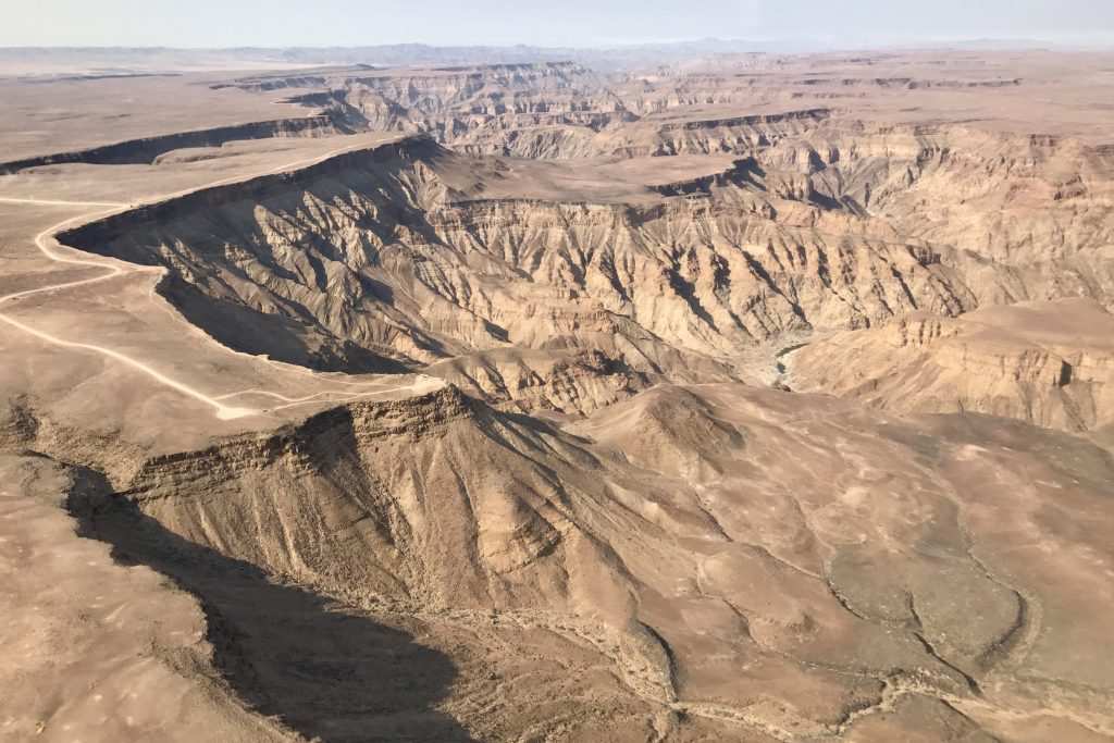 Fish River Canyon the largest canyon in africa