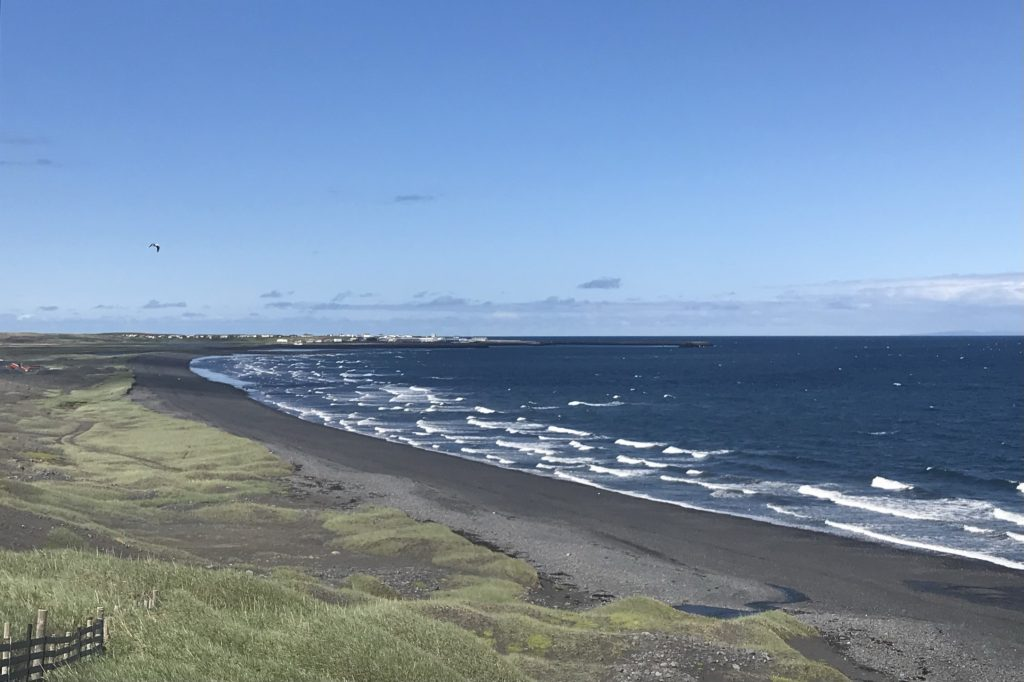 a wide beaches on the north coast of the Snæfellsnes peninsula