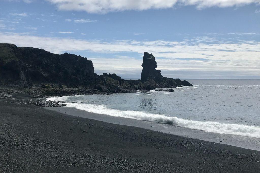 Djúpalónssandur beach in the Snæfellsnes peninsula