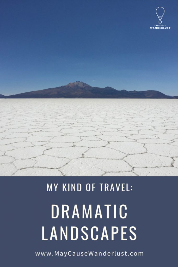 My Kind of Travel: Dramatic Landscapes - Pinterest Pin