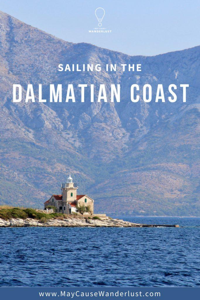 Sailing in the Dalmatian Coast - Sućuraj Lighthouse, Hvar Island