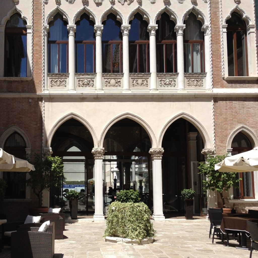 the 5-star Centurion Palace Hotel in Venice, Italy