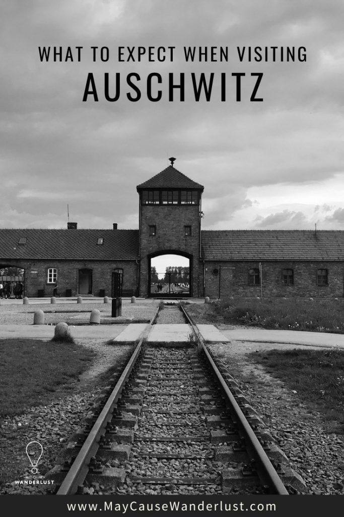What to Expect when visiting Auschwitz in Poland Pinterest Pin