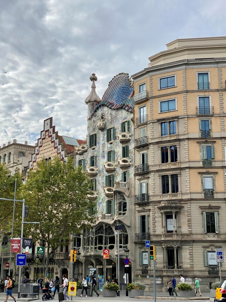 Gaudi's Casa Batlló on the Block of Discord in Barcelona